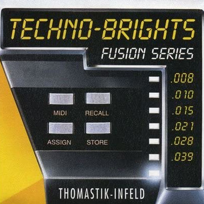 Corzi chitara electrica Thomastik Techno brights